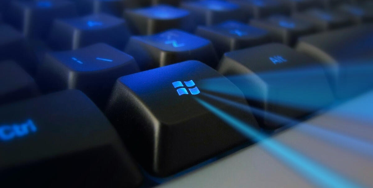 Windows keyboard photo